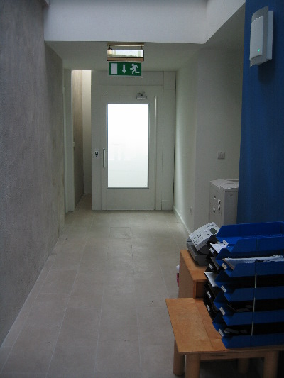 Lift from Ground Floor to First Floor