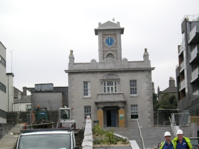 Harbour Lodge Clock Installed