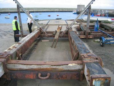 Cradle timbers renewed