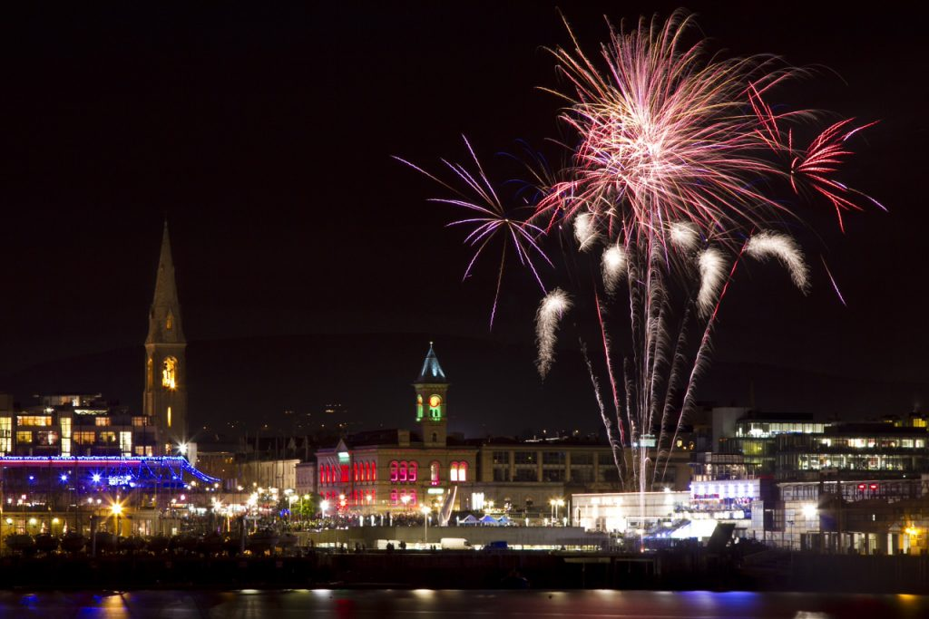 Christmas at Dun Laoghaire