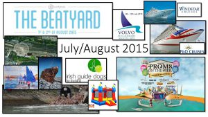 July Aug 2015 Event List Collage