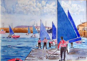 66. Down to the Sea, Dunleary €430