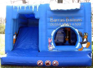 Ice cabin bouncy castle
