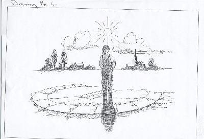 Sundial analemmatic simpistic diagram