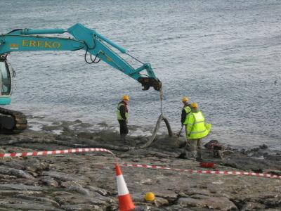 Storm damage repairs beat the tide