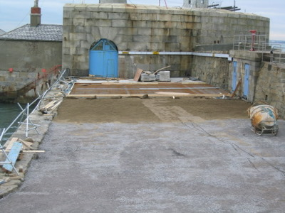 29_jan_05_area_next_to_battery_will_be_granite_paved