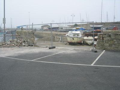 New slipway entrance taking shape